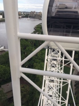 brisbane river from above