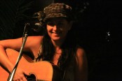 mel irvine performing at mondos in cairns
