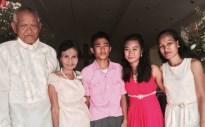 Wedding of Nichol and Ronalyn - groom's family