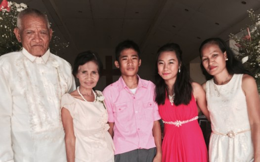 Wedding of Nichol and Ronalyn - groom's family