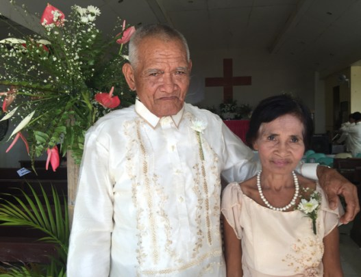 Wedding of Nichol and Ronalyn - parents of the groom
