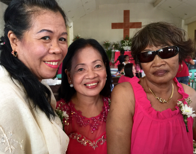 Wedding of Nichol and Ronalyn - three grandmothers