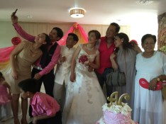 Wedding of Nichol and Ronalyn - wedding selfie