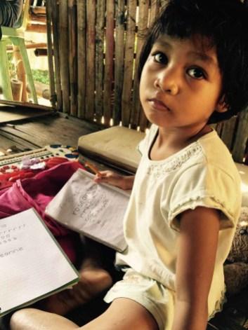 roseanne writing her name