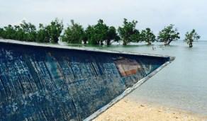 high tide at gigantes islands