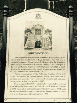 historic fort santiago