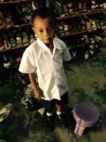 jerry gets a new school uniform