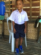 jerry's new school uniform