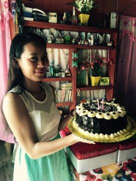 maecy's birthday cake