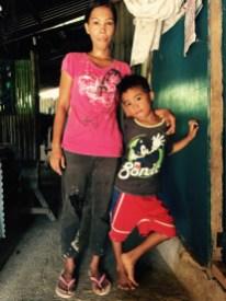 salvador mahusay and mother
