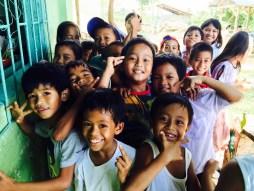 the kids of tanza elementary school