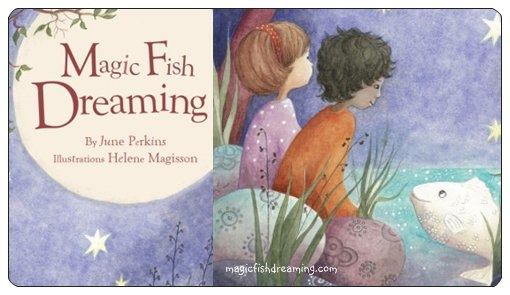 magic fish dreaming a book of poems by june perkins