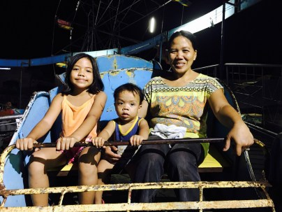 fiesta night nanay, jylyn and bata jyn