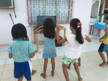 learning the dance to 'i won't give up'