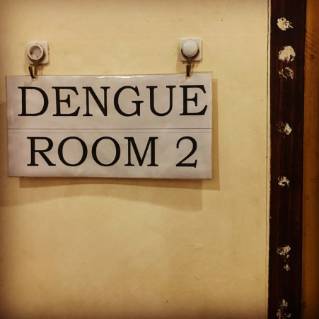 the dengue ward