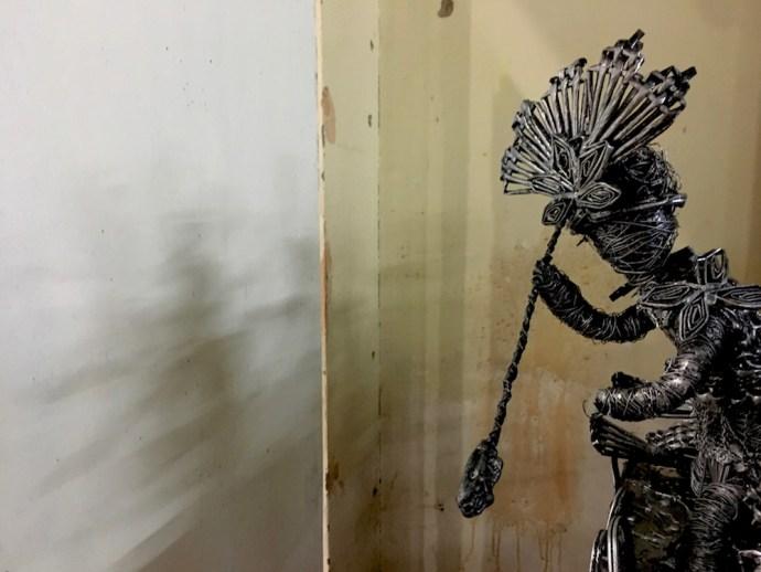 wire art at dinagyang5