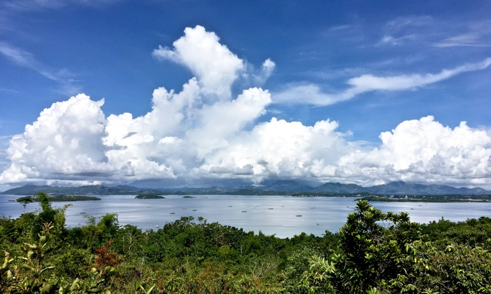 view from the top of Bito-on Island