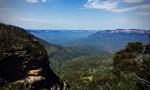 blue mountains at blackheath NSW