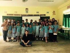 Screening Chasing Coral at Tanza Elementary School 2017