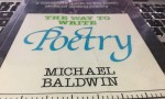 the way to write poetry | michael baldwin