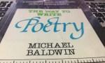 the way to write poetry   michael baldwin