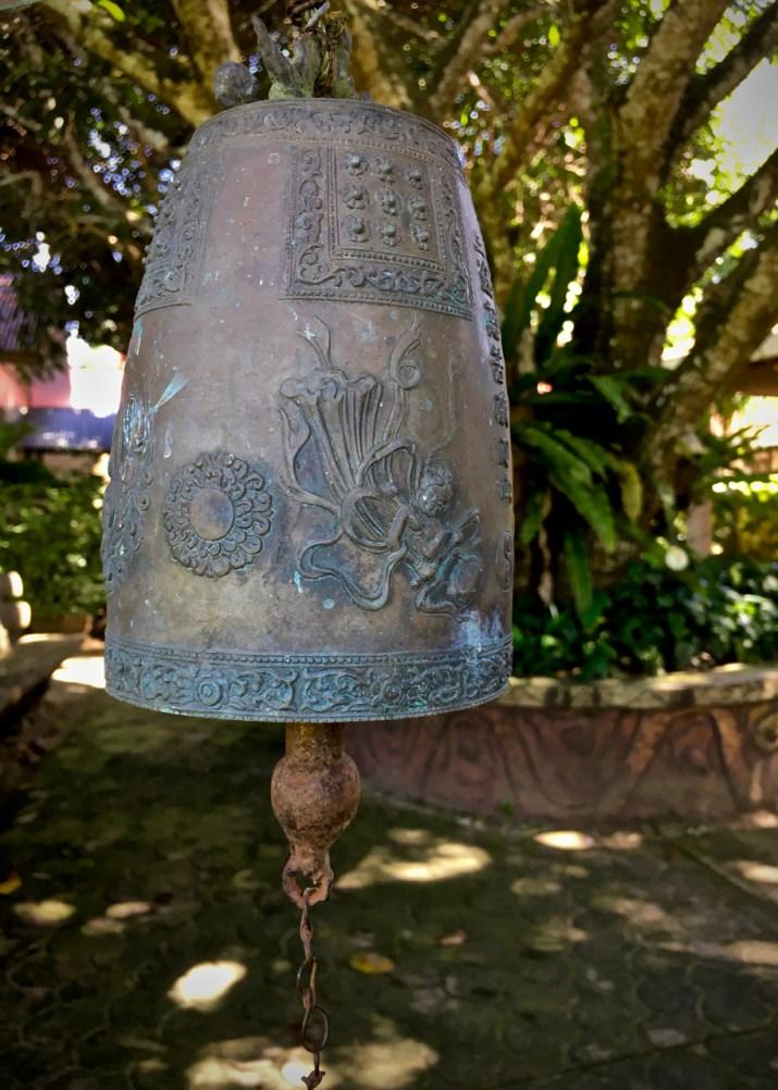 bell in the garden