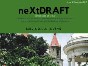 neXtDRAFT an eZine by Melinda J. Irvine Issue 12.