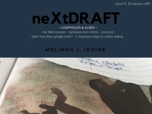 neXtDRAFT an eZine by Melinda J. Irvine Issue 13.-2