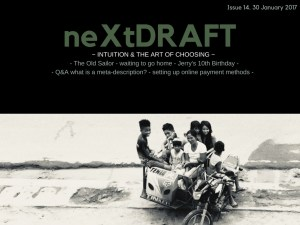 neXtDRAFT an eZine by Melinda J. Irvine Issue 14.