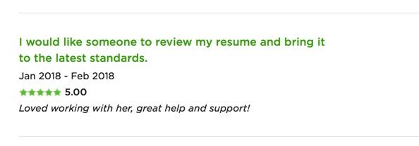 client testimonial for melinda j. irvine
