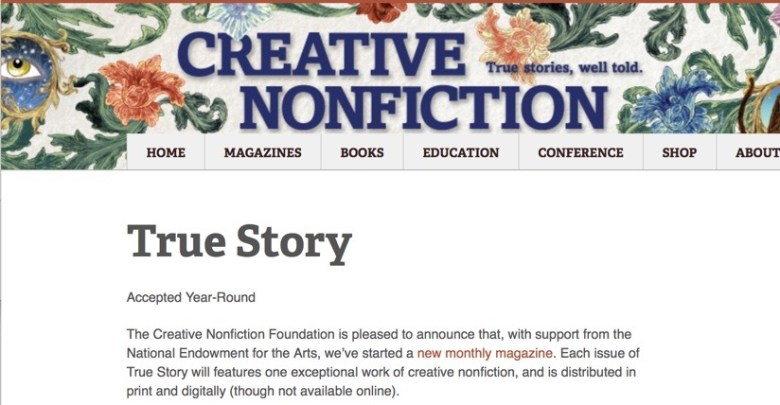 get paid to write your personal story for Creative NonFiction