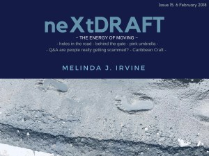 neXtDRAFT an eZine by Melinda J. Irvine Issue 15.