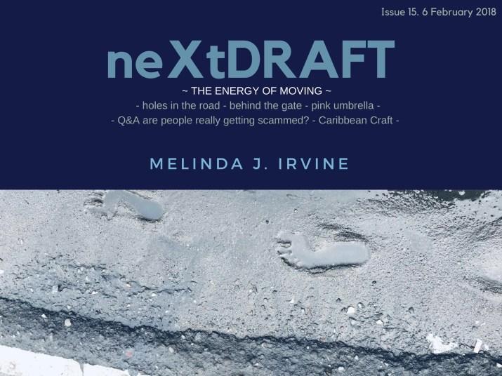 neXtDRAFT an eZine by Melinda J. Irvine Issue 15.