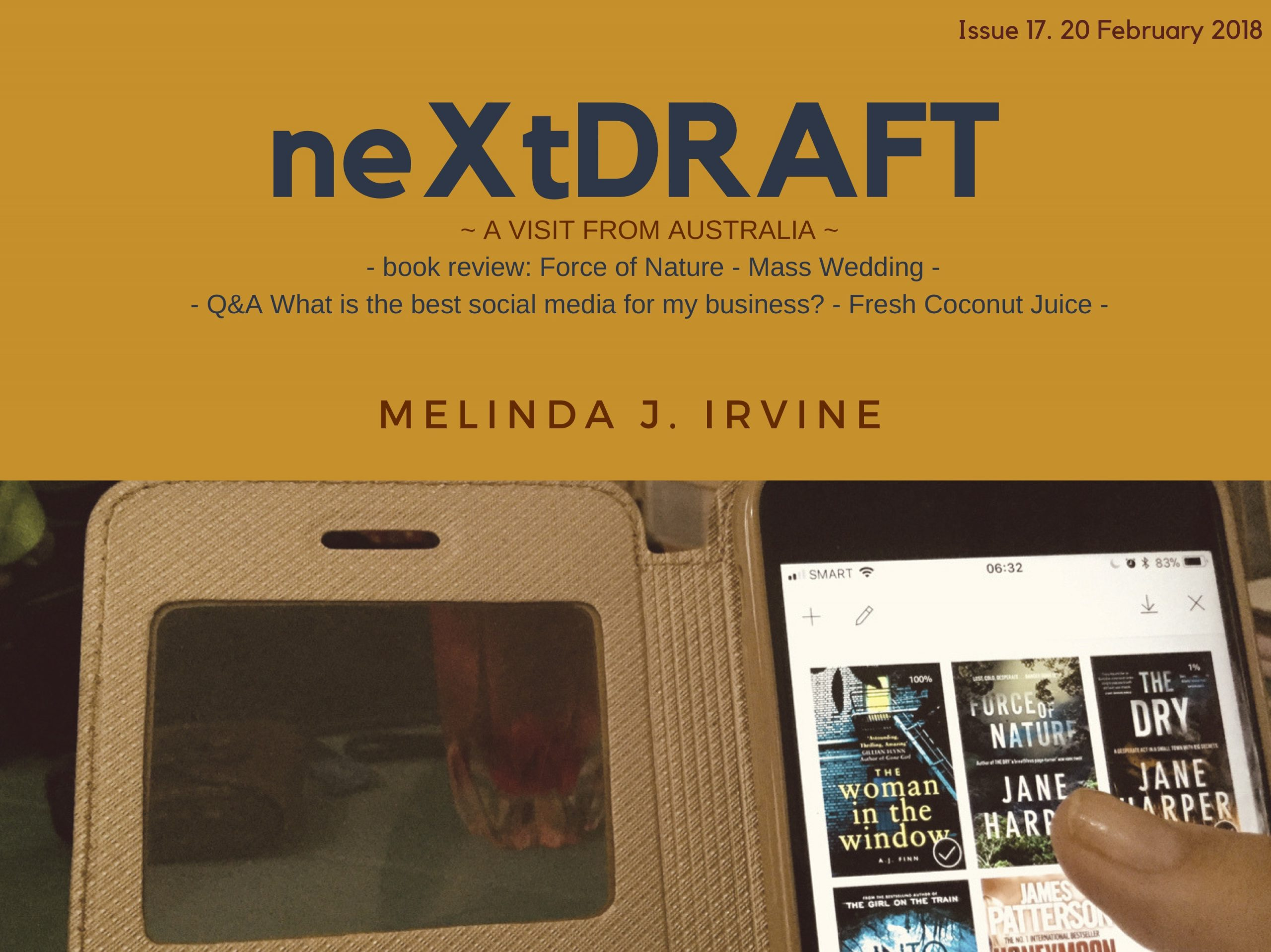 neXtDRAFT an eZine by Melinda J. Irvine Issue 17.