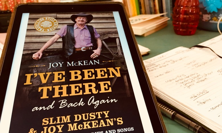 book review - i've been there and back by joy mckean