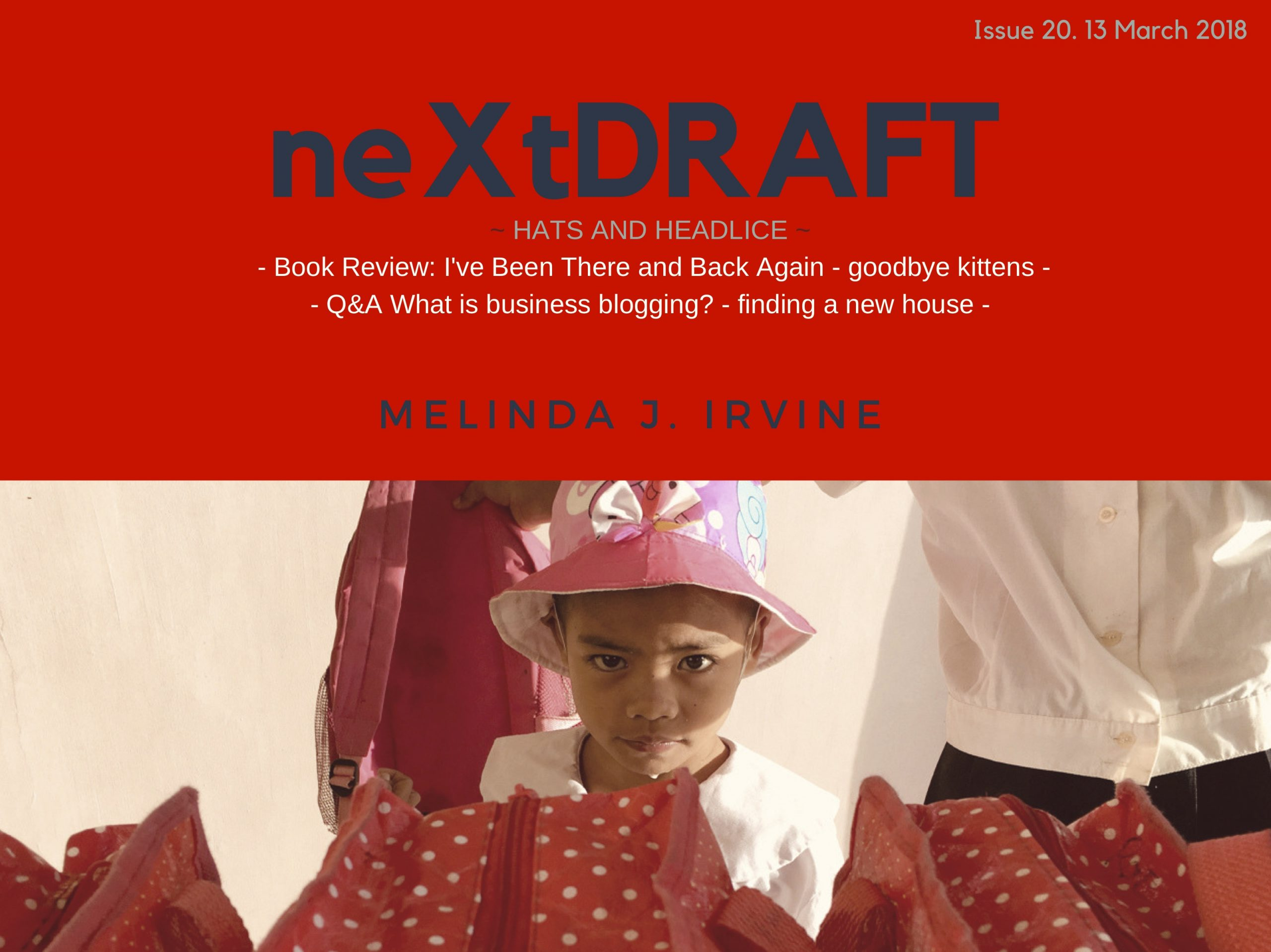 neXtDRAFT an eZine by Melinda J. Irvine Issue 20.