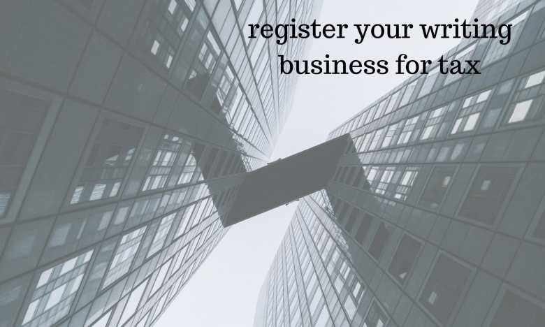 register your writing business for tax WritingBiz
