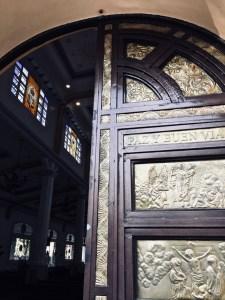 La Paz Cathedral door