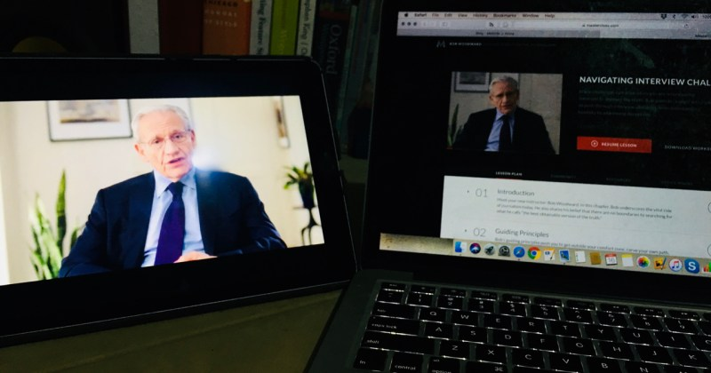 Bob Woodward teaches investigative journalism - review fo masterclass