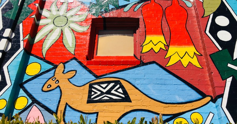 murals in blackheath nsw