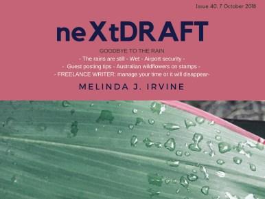neXtDRAFT an eZine by Melinda J. Irvine Issue 40