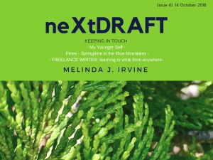 neXtDRAFT an eZine by Melinda J. Irvine Issue 41