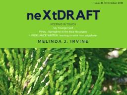 neXtDRAFT an eZine by Melinda J. Irvine Issue 41