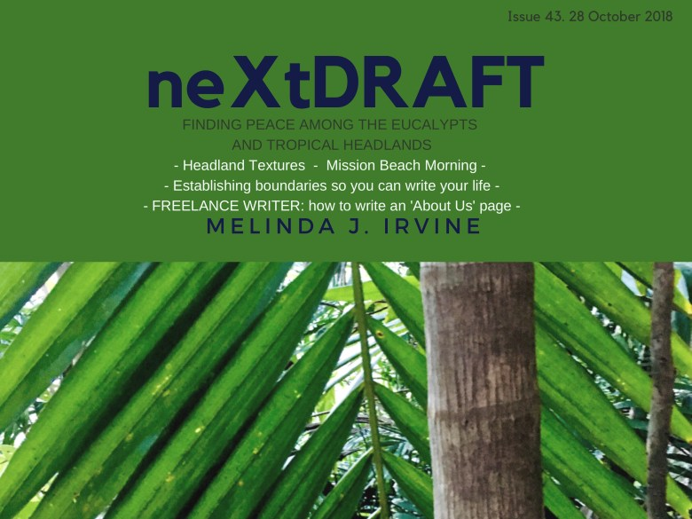 neXtDRAFT an eZine by Melinda J. Irvine Issue 43