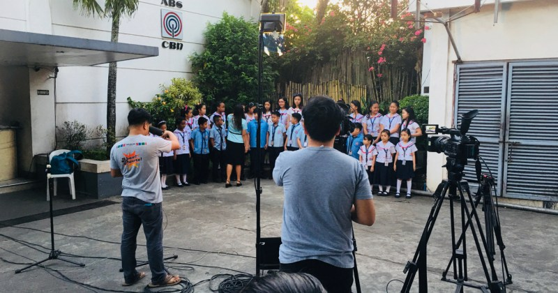 Doane Baptist School Choir at ABS-CBN 2018