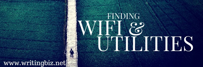 WIFI and utilities - Melinda J. Irvine Freelance Writer www.writingbiz.net