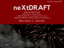 neXtDRAFT an eZine by Melinda J. Irvine Issue 50