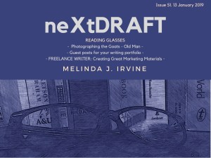 neXtDRAFT an eZine by Melinda J. Irvine Issue 51