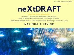 neXtDRAFT an eZine by Melinda J. Irvine Issue 54.