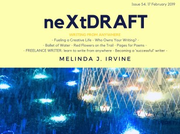 neXtDRAFT an eZine by Melinda J. Irvine Issue 54.